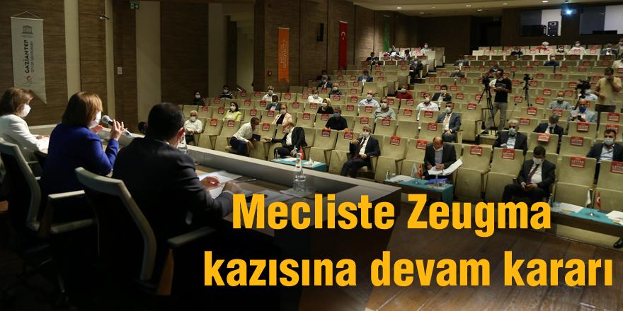 Mecliste Zeugma  kazısına devam kararı