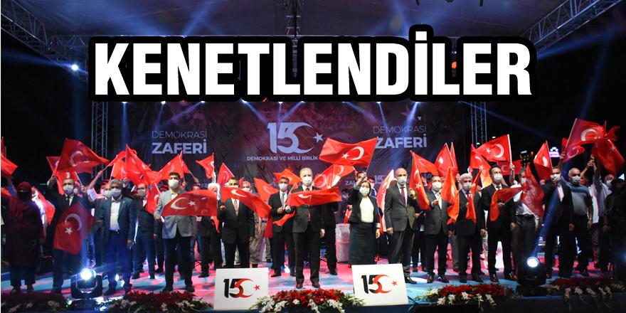 Gaziantep protokolü 15 Temmuz'da kenetlendi
