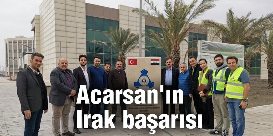 Acarsan'ın Irak başarısı