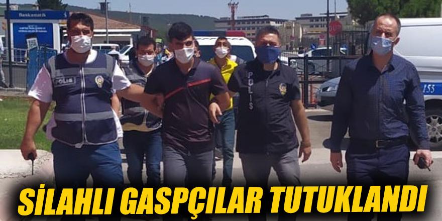 Silahlı gaspçılar tutuklandı