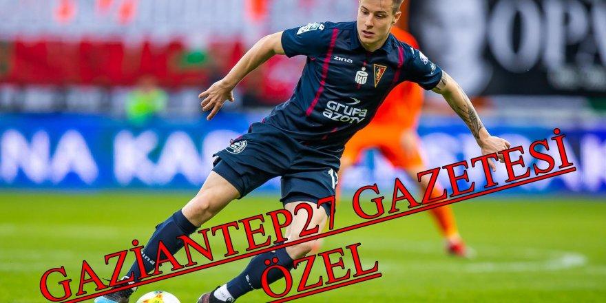 Bosnalı milli futbolcu Gaziantep F.K'da