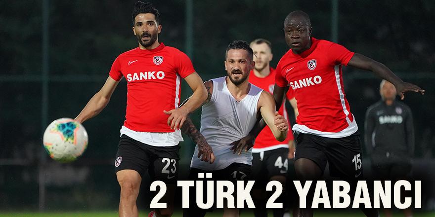 2 Türk 2 Yabancı