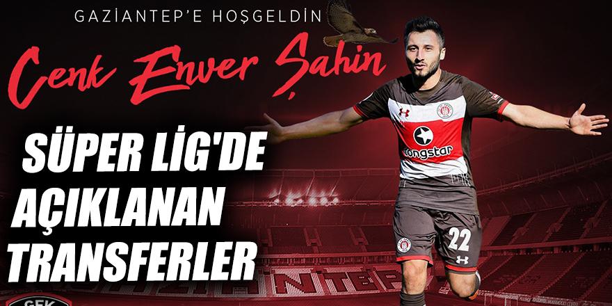 Süper Lig'de açıklanan transferler