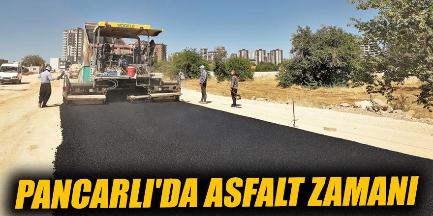 Pancarlı'da asfalt zamanı