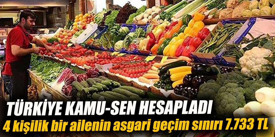 Türkiye Kamu-Sen hesapladı