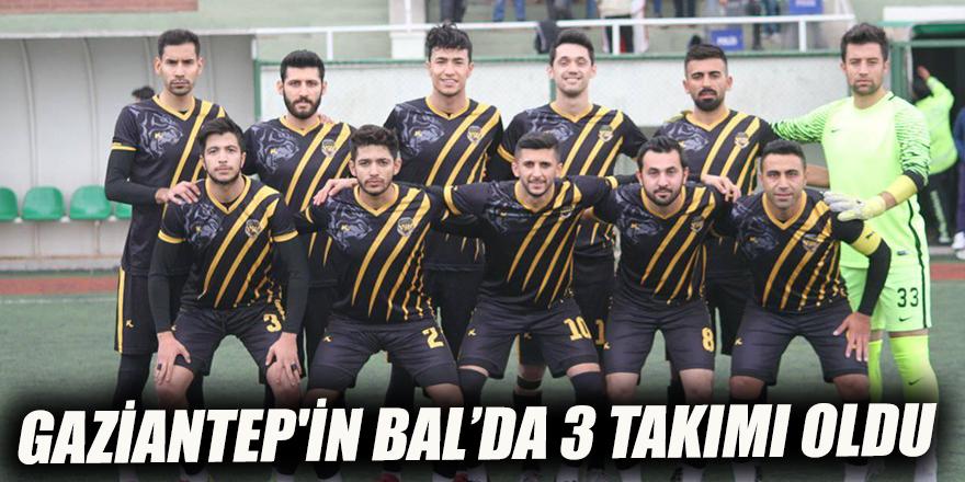 Gaziantep'in BAL'da 3 takımı oldu