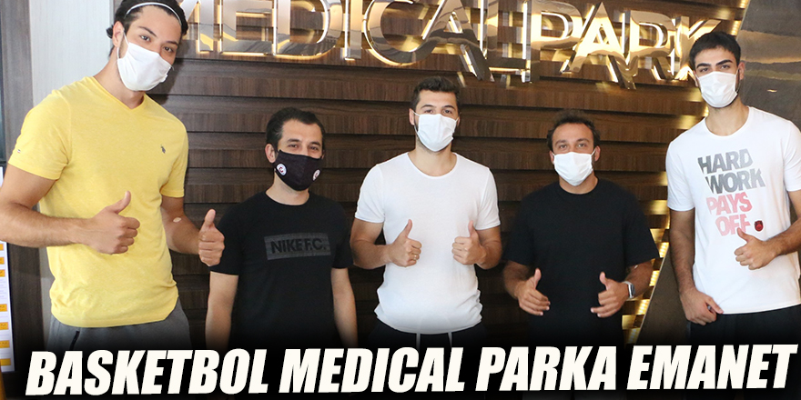 BASKETBOL MEDICAL PARKA EMANET