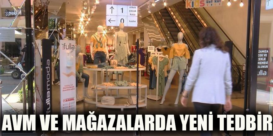 AVM ve mağazalarda yeni tedbir