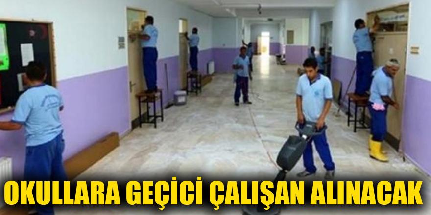 Okullara geçici çalışan alınacak