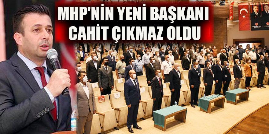 MHP'nin yeni başkanı Cahit Çıkmaz oldu