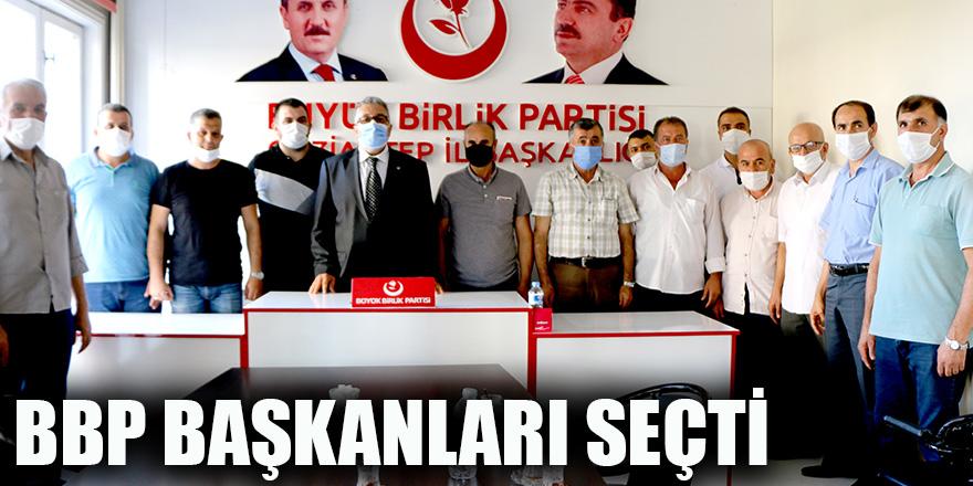 BBP başkanları seçti