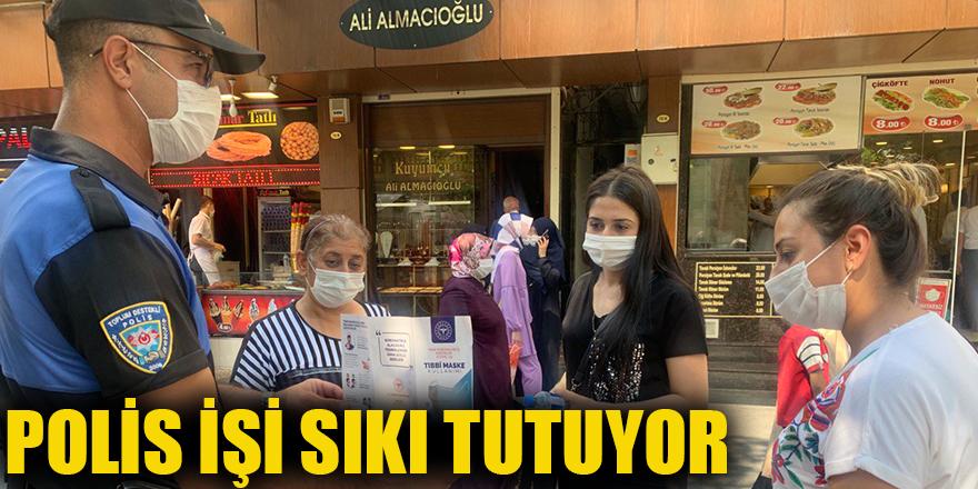 POLİS İŞİ SIKI TUTUYOR