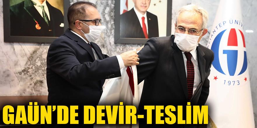 GAÜN'DE DEVİR-TESLİM