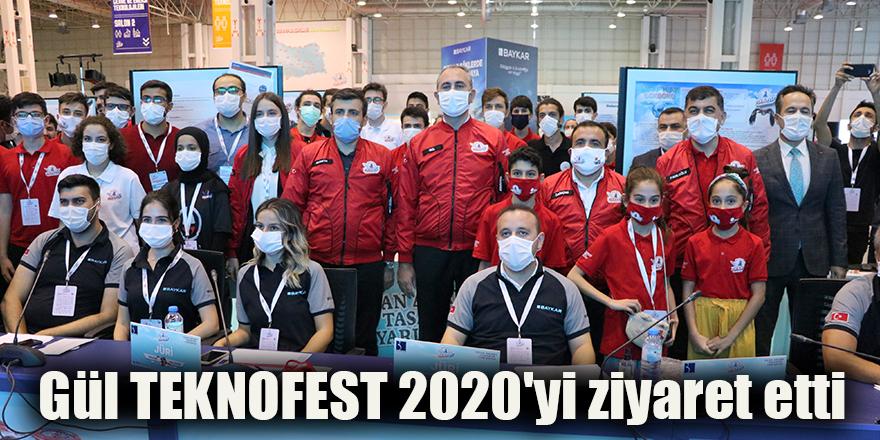 Gül TEKNOFEST 2020'yi ziyaret etti
