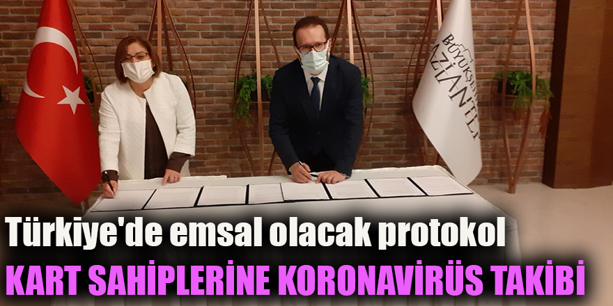 Türkiye'de emsal olacak protokol
