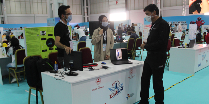 AFAD teknolojiye destek veriyor