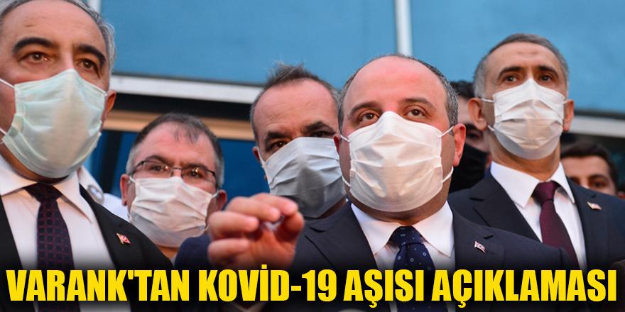 Varank'tan Kovid-19 aşısı açıklaması