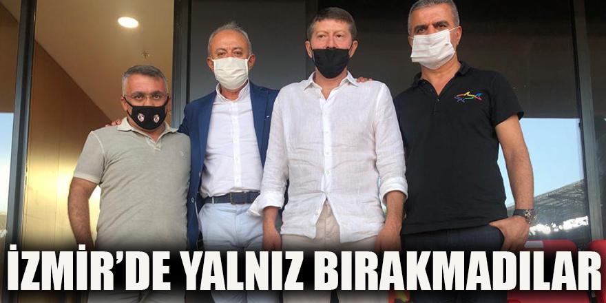 İzmir'de yalnız bırakmadılar