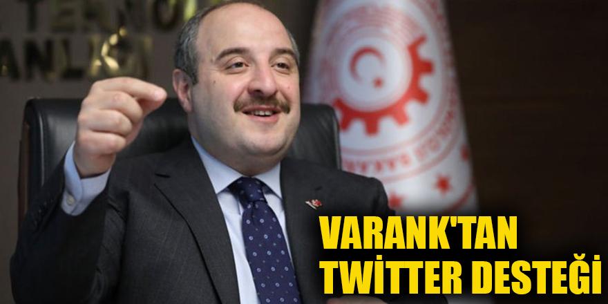 Varank'tan Twitter desteği