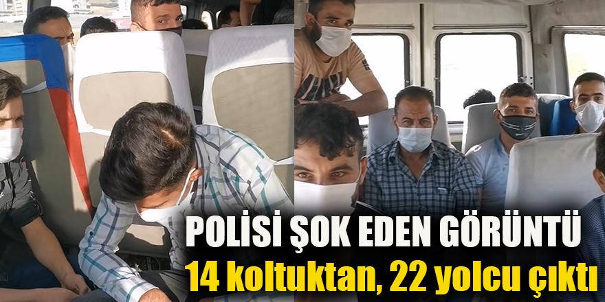 POLİSİ ŞOK EDEN GÖRÜNTÜ