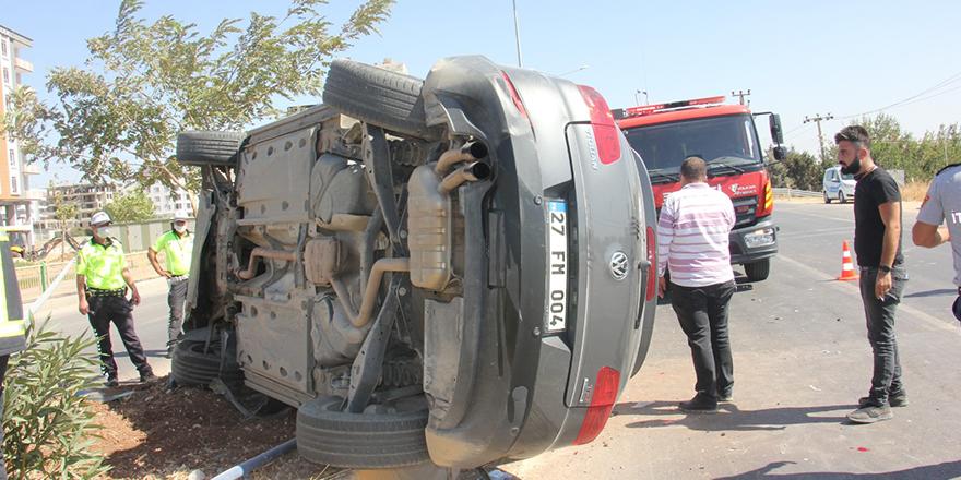 Otomobil ile hafif ticari araç çarpıştı: 5 yaralı