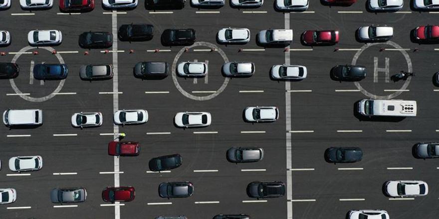 Trafikte araç sayısı artıyor