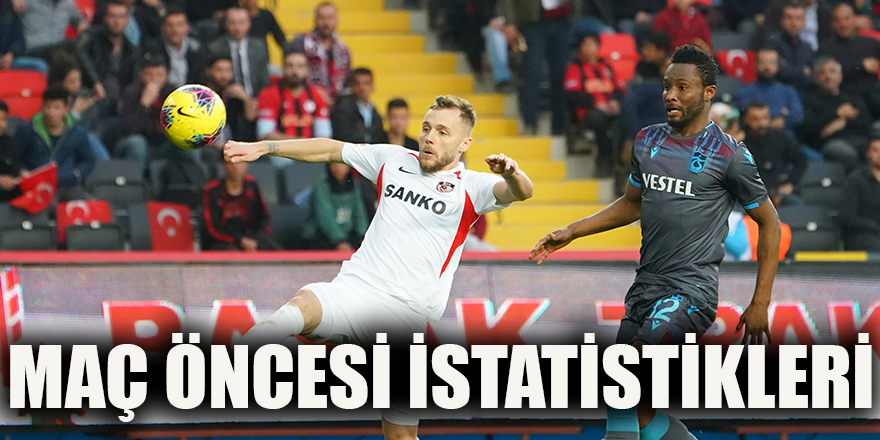 Maç öncesi istatistikleri