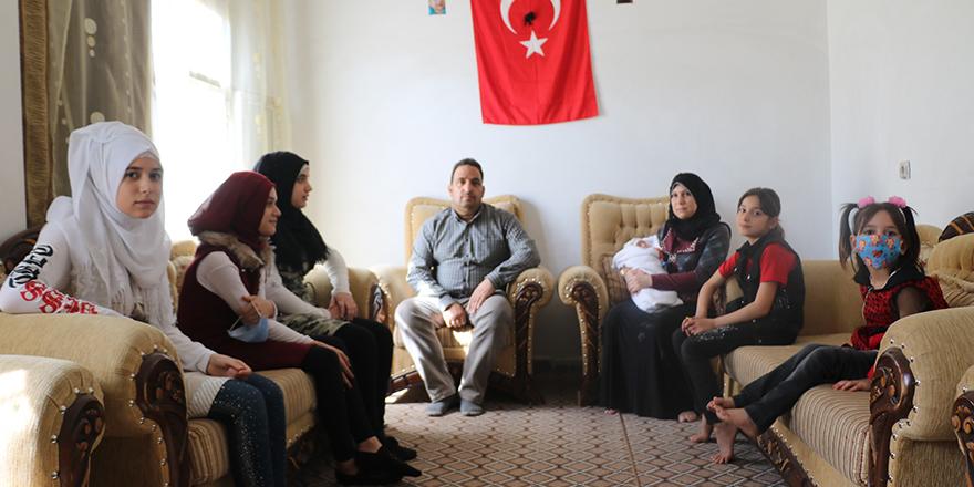 Suriyeli aileden Türkiye'ye teşekkür