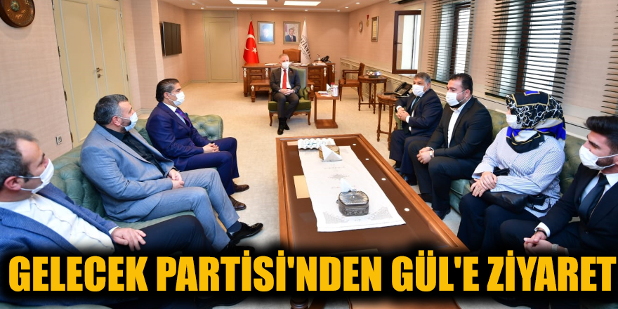Gelecek Partisi'nden Gül'e ziyaret