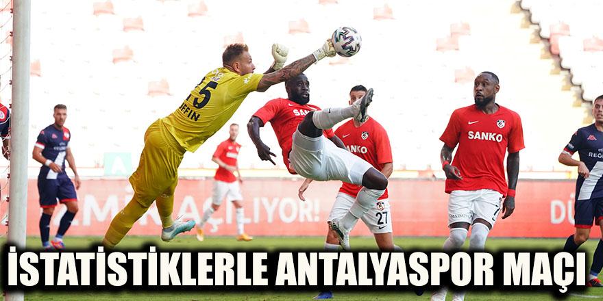 İstatistiklerle Antalyaspor maçı