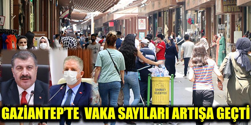 Gaziantep'te  vaka sayıları artışa geçti