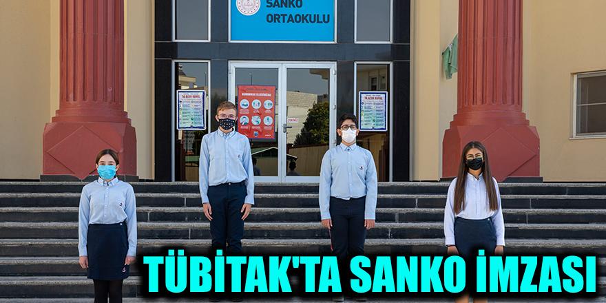 TÜBİTAK'ta Sanko imzası