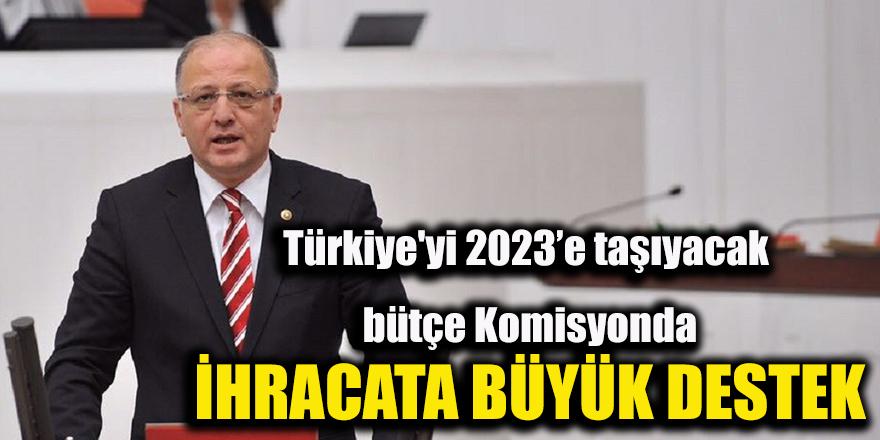 Türkiye'yi 2023'e taşıyacak bütçe Komisyonda