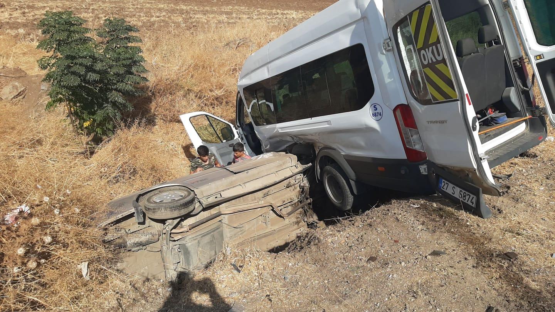 İki trafik kazasında 7 kişi yaralandı
