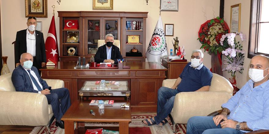 Taşdemir'den NTO'ya ziyaret