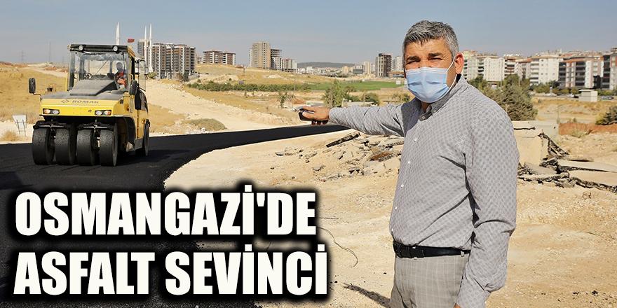 Osmangazi'de asfalt sevinci