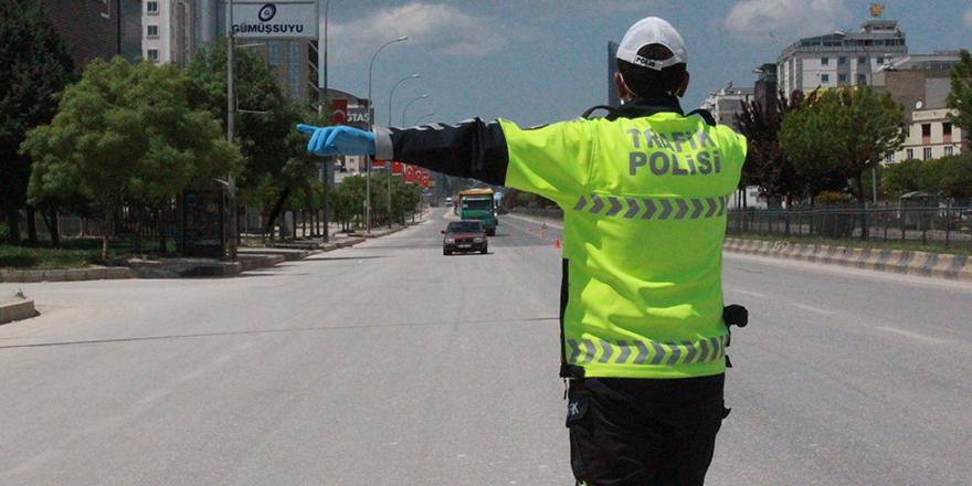 Trafikte ceza yağdı