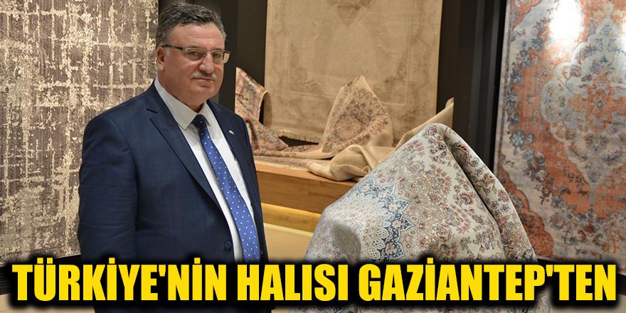 Türkiye'nin halısı Gaziantep'ten
