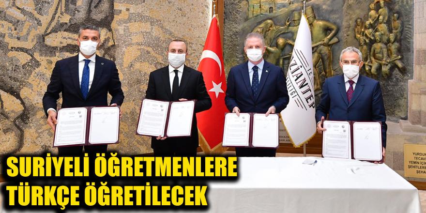 Suriyeli öğretmenlere Türkçe öğretilecek