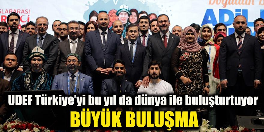 UDEF Türkiye'yi bu yıl da dünya ile buluşturtuyor