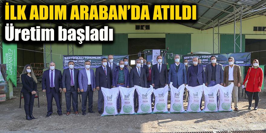 İLK ADIM ARABAN'DA ATILDI