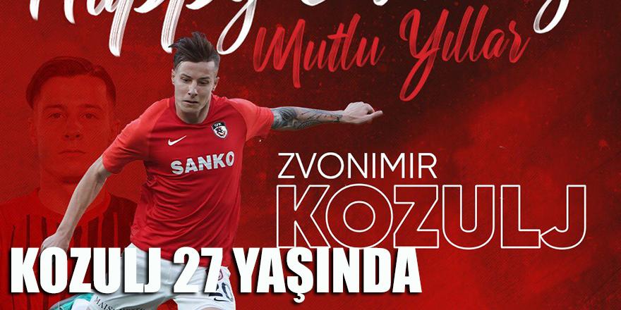 Kozulj 27 yaşında