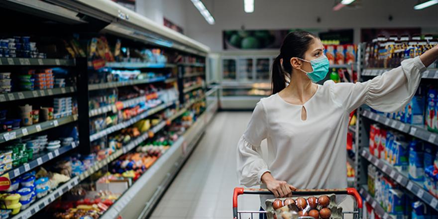 Koronavirüs gıdadan da bulaşıyor