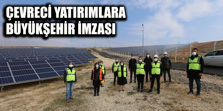 Çevreci yatırımlara Büyükşehir imzası