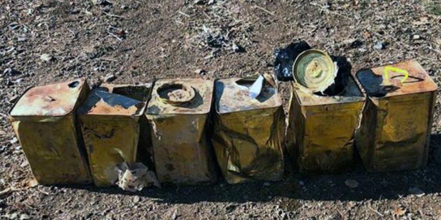 El Bab'da 25 kilo tuzaklı patlayıcı bulundu