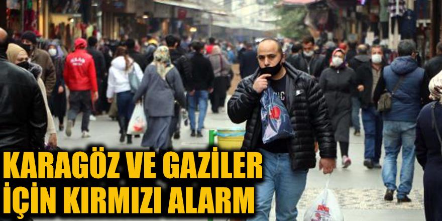 Karagöz ve Gazileriçin kırmızı alarm