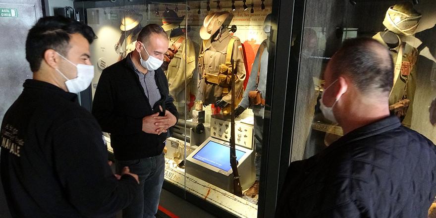Çanakkale Savaşları Mobil Müzesi geziyor