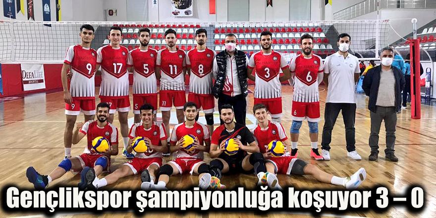 Gençlikspor şampiyonluğa koşuyor 3 – 0