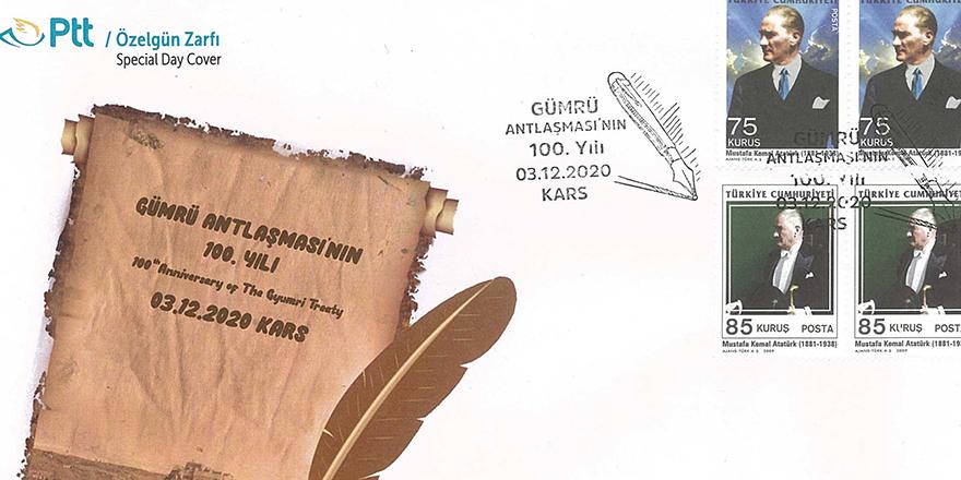 Gümrü antlaşmasına özel zarf