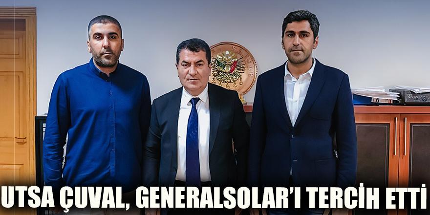 Utsa Çuval, Generalsolar'ı tercih etti